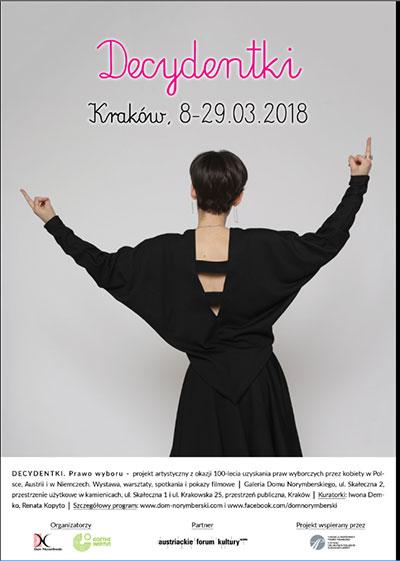 Decydentki. Prawo wyboru - Dom Norymberski w Krakowie